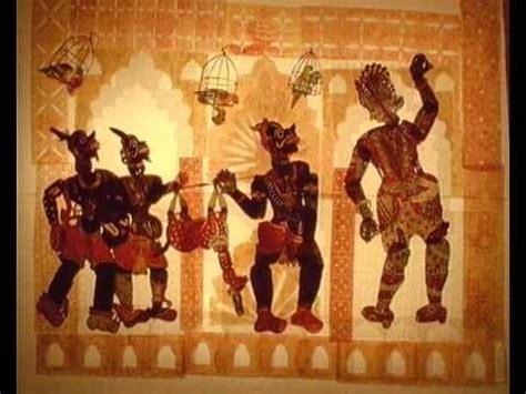 indian shadow puppet animation  gul ramani youtube