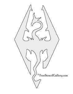 skyrim symbol outline clipart 20 free Cliparts   Download