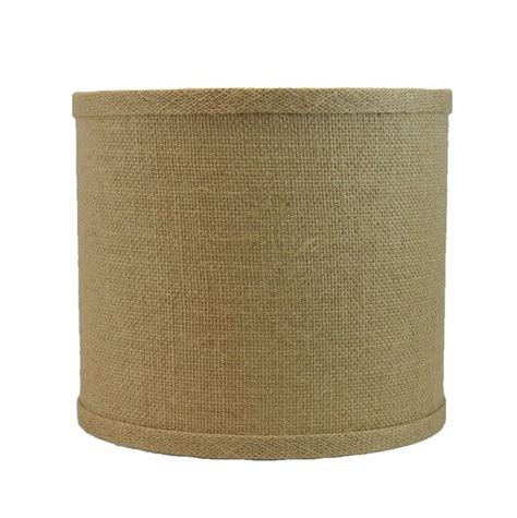 urbanest blue burlap drum lshade 17 best images about l shade on drum shade