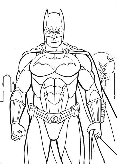 coloring batman coloring pictures  kids