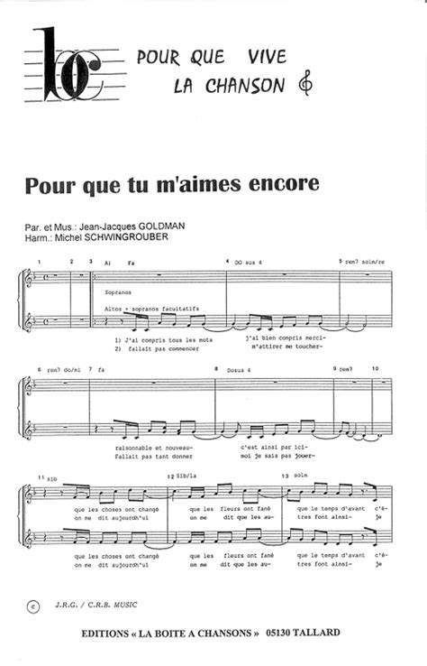 si鑒e pour piano partition piano pour que tu m aime encore
