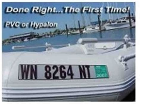 Nj Boat Registration Numbers Placement by Registration Numbers For Boats Home