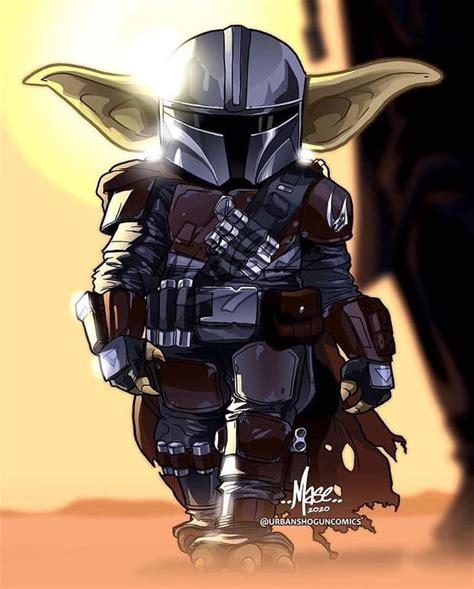 Baby Yoda Mandalorian em 2020 | Poster de star wars ...