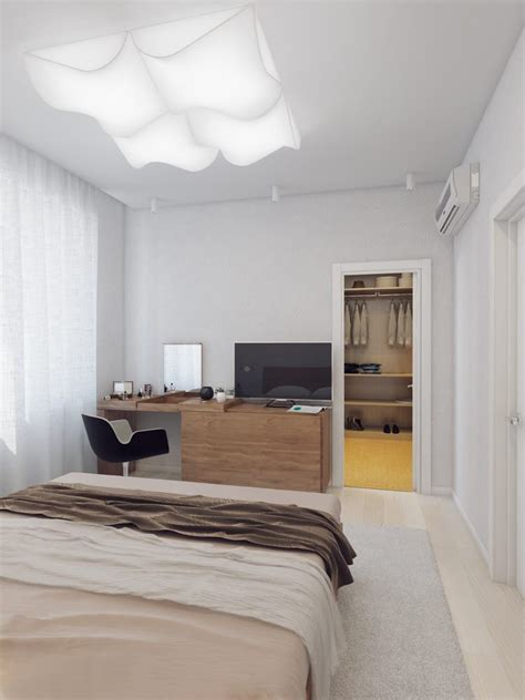 Sparkling White Apartment With Hideaway Home Offices by Hideaway Home Offices In The White Apartment Daily Home