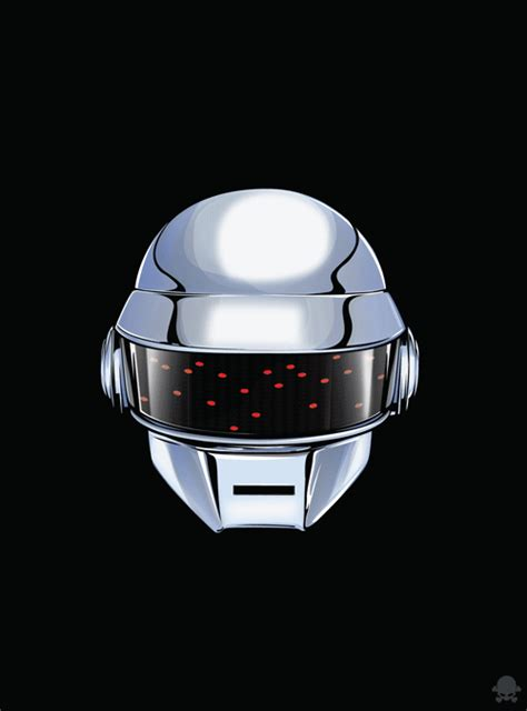 Give Life Back to Music, Animated GIFs of Daft Punk's Helmets