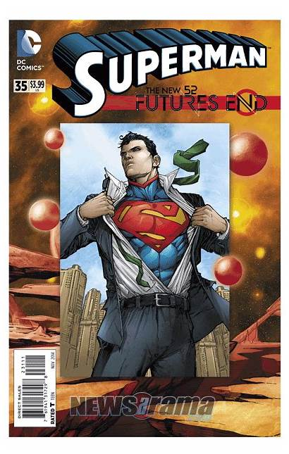 End Comics Futures Dc Covers 3d Superman