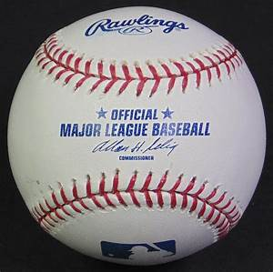 Lot Detail - Kirk Gibson Single Signed Official Major ...