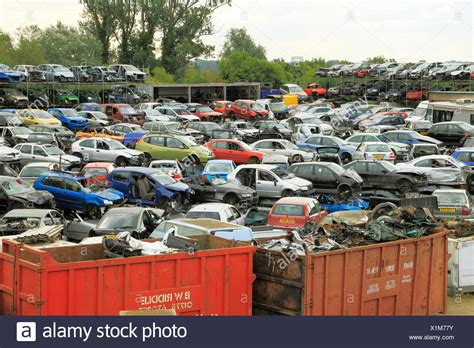 Car Dump Yard by Salvage Yard Stock Photos Salvage Yard Stock Images Alamy