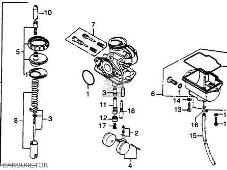 honda ct125 trail 125 1977 usa parts list partsmanual