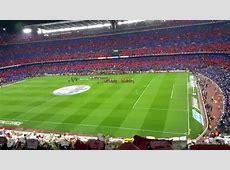 FC Barcelona Real Madrid espectacular el Camp Nou