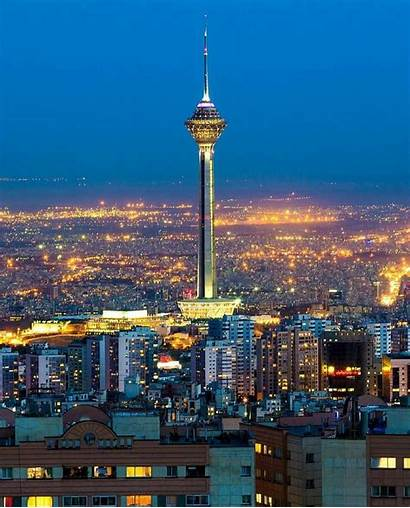 Iran Tehran Tower Milad Iranian Instagram Travel