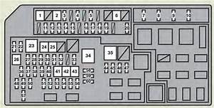 Lexus Gx460  2012 - 2013  - Fuse Box Diagram