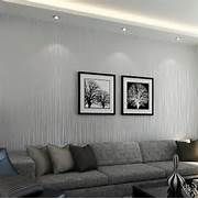 Modern Non Woven Wallpaper Bedroom Warm Living Room Color Stripes Warm Colors For Living Room Modern Interior Design Ideas For Modern Living Room Featuring Elegant Warm Wall Colors For Living Contemporary Living Space Photos HGTV