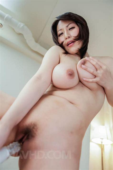 Watch Porn Video Yuuna Hoshisaki Fucks With Vibrator And Rubs Dong With Big Assets JavHD Com