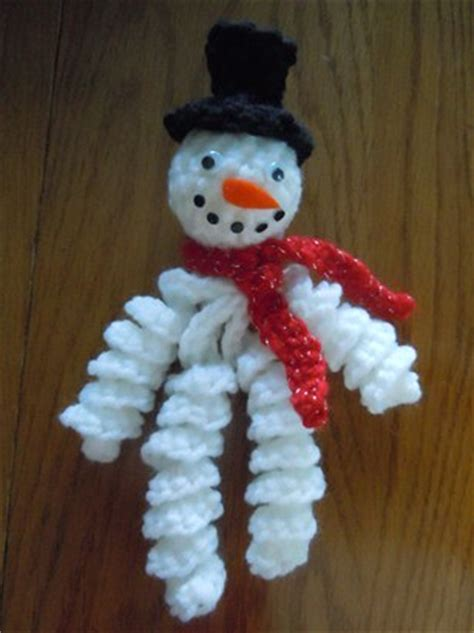 snowman ornament patterns free patterns