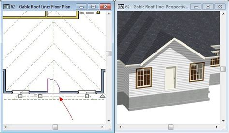 how to use the gable roof line tool chief architect software help chief architect chief