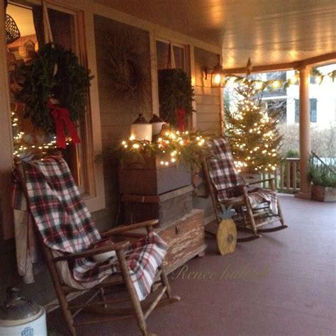 Renee Hubiak Wonderfully Festive Porch Country