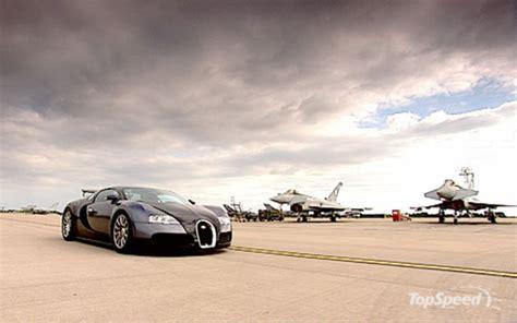 Bugatti Veyron Vs Jet Fighter