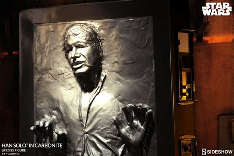 New Han Solo In Carbonite Life-Sized Figure available for ...