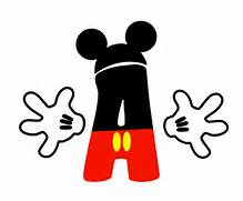 disney classrooms clas...Mickey Mouse Coloring Letters