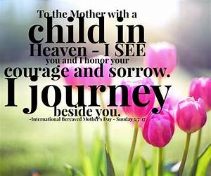 The Sorrow in Mother's Day - International Bereaved Mother ...