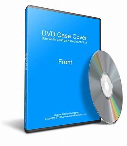 Dvd Case Cd Mockup Blank Photoshop Action