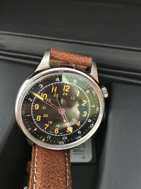 fs bulova   type wwii  issue limited edition