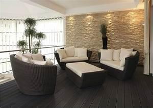 Steinwand Wohnzimmer Ideen : steinwand beleuchtung gesammelte werke pinterest ~ Sanjose-hotels-ca.com Haus und Dekorationen