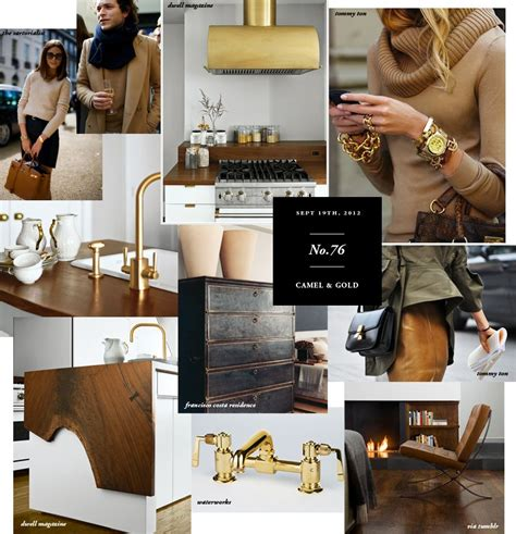 Interiors Nam Dang Mitchell Design by Nam Dang Mitchell Inspiration Camel With Gold