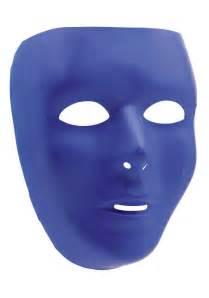 Halloween Half Face Masks Uk by Blue Full Face Mask