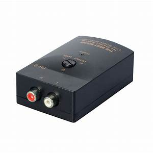 Auto Car Rca Stereo Speaker Level Converter Audio