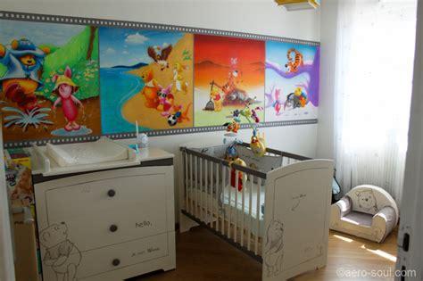 déco chambre bébé winnie l 39 ourson