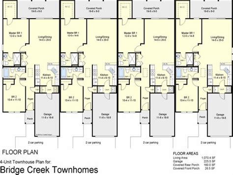 plex townhouse floor plans  plex apartment floor plans