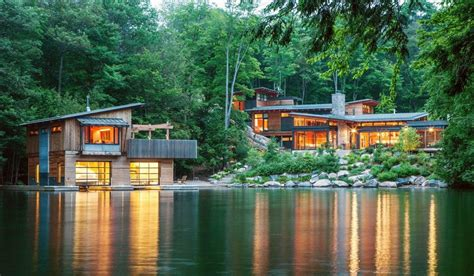 House In The Forest : 10 The Most Beautiful Design Of Modern Forest Home