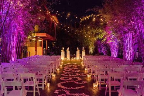 Romantic Gold & Pink Nighttime St Pete Wedding NOVA 535