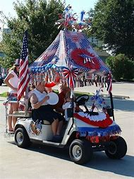 Best Craft Parade Floats - ideas and images on Bing | Find what you on betty boop july 4th, golf cart decorating ideas, golf cart christmas sleigh,