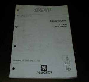 Workshop Manual Peugeot 806 Stand 01  2001 Wiring Diagrams