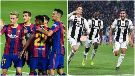 Barcelona vs Juventus Head-to-Head: Ahead of UEFA ...