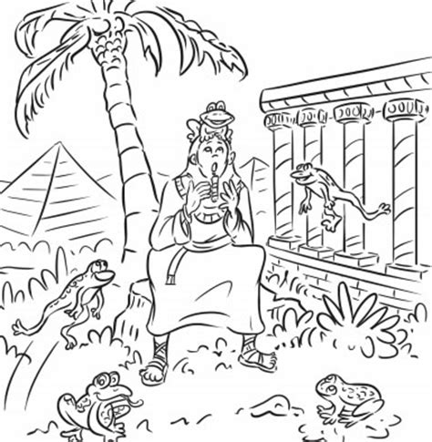 page  passover coloring book passover coloring