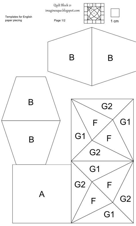paper piecing templates imaginesque quilt block 21 templates for piecing paper piecing fabric cutting