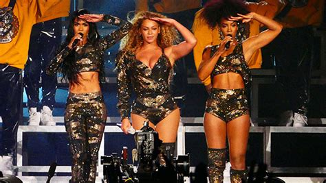 Destiny's Child Reunites During Beyonce's Coachella