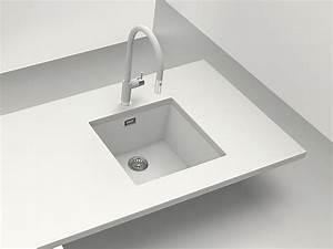 Weiße Granit Spüle : sp len materialien keramik edelstahl und co unter der lupe ~ Michelbontemps.com Haus und Dekorationen