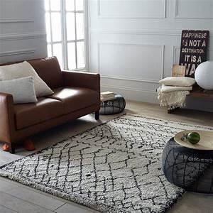 17 meilleures idees a propos de tapis berbere sur With tapis berbere avec canapé d angle redoute