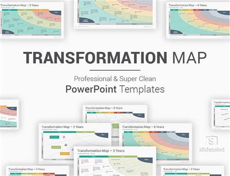 transformation map powerpoint templates diagrams slidesalad