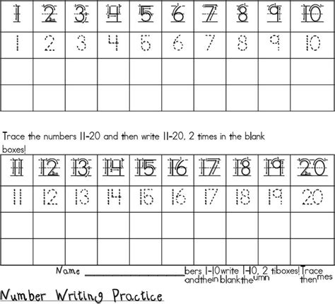 best 25 number writing practice ideas on pinterest
