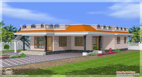 single house designs kerala style single storey 1800 sq home design home