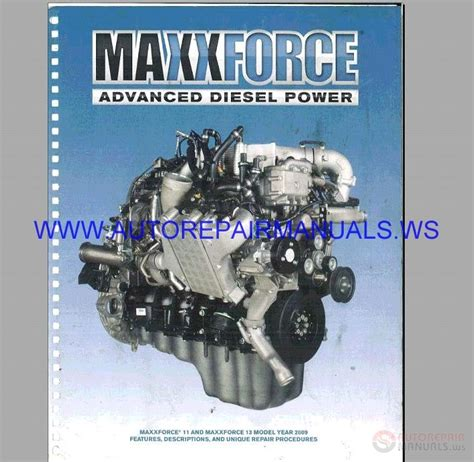 navistar maxxforce   epa diagnostic engine service