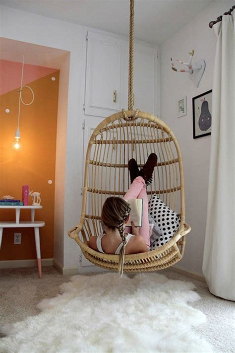 hanging chairs add some character to your home nesting