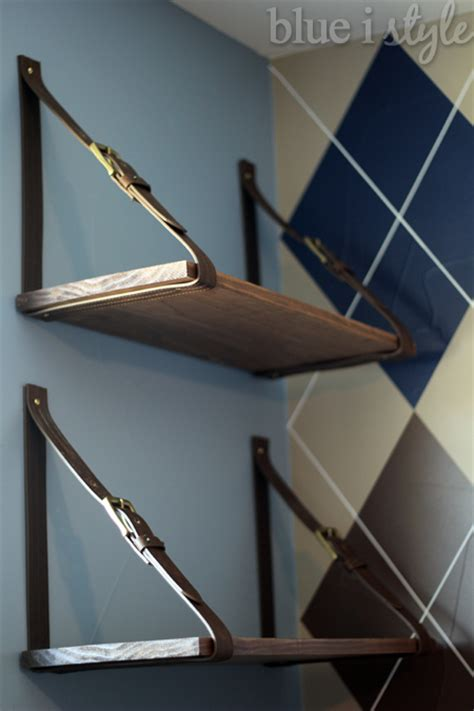 Kitchens With Islands Ideas - hometalk using mens 39 belts to create cool hanging shelves