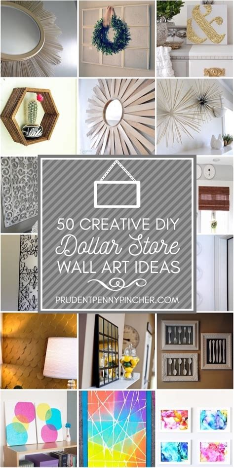 Please call for an appointment! 50 Creative Dollar Store DIY Wall Art Ideas - Prudent Penny Pincher